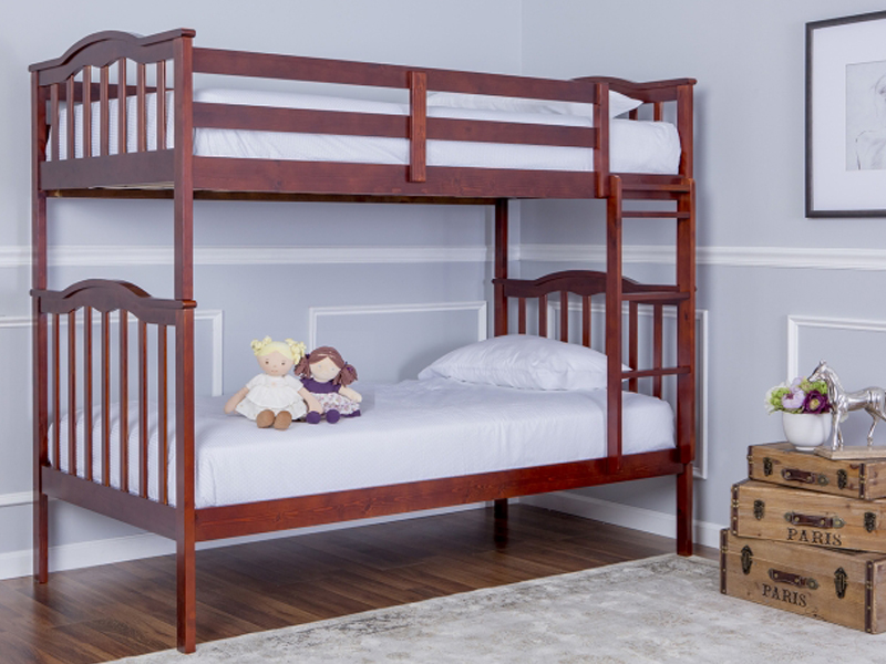 Cody 2-in-1 Twin Over Twin Bunk Bed