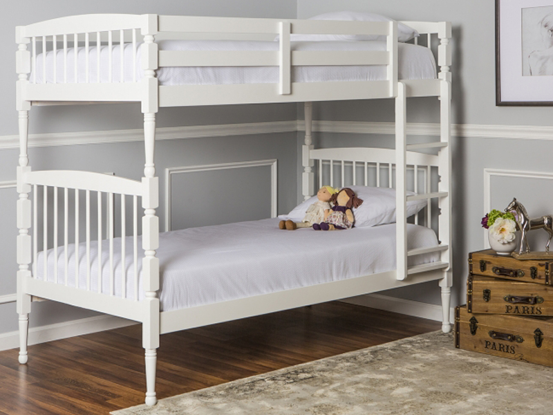 Julia 2-in-1 Twin Over Twin Bunk Bed