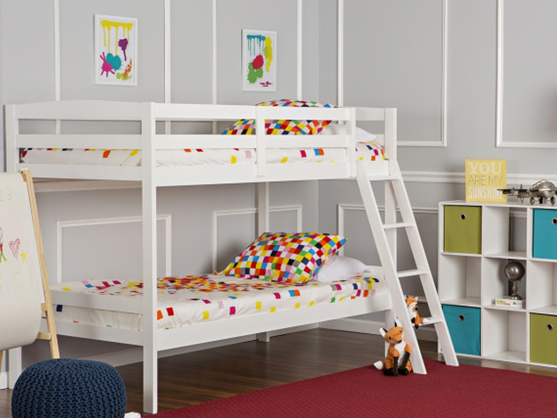 Taylor 2-in-1 Twin Over Twin Bunk Bed