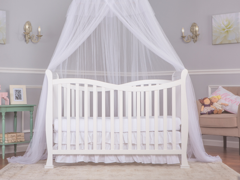 Violet 7-in-1 Convertible Life Style Crib
