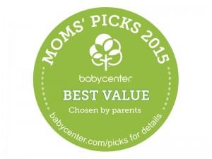 Baby Center Moms' Pick Award