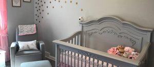 A Piece Of Heaven On Earth Baby Aubree Skye S Aurora Nursery Part 1 3