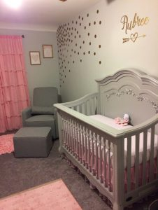Everything In This Nursery Is Pure Elegance It S A Little Surprising Because While Almost Cliché Pink And Grey Complement Each Other There