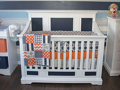 Baby Dominic Evolur Parker 5 in 1 Convertible Crib