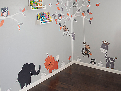 Baby Dominic Nursery Decor