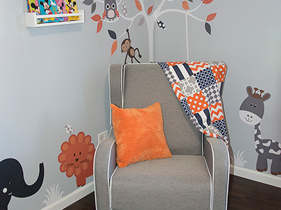 Baby Dominic Nursery Room Design