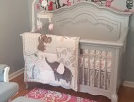 Elena Girl Baby Nursery Evolur Aurora Collection