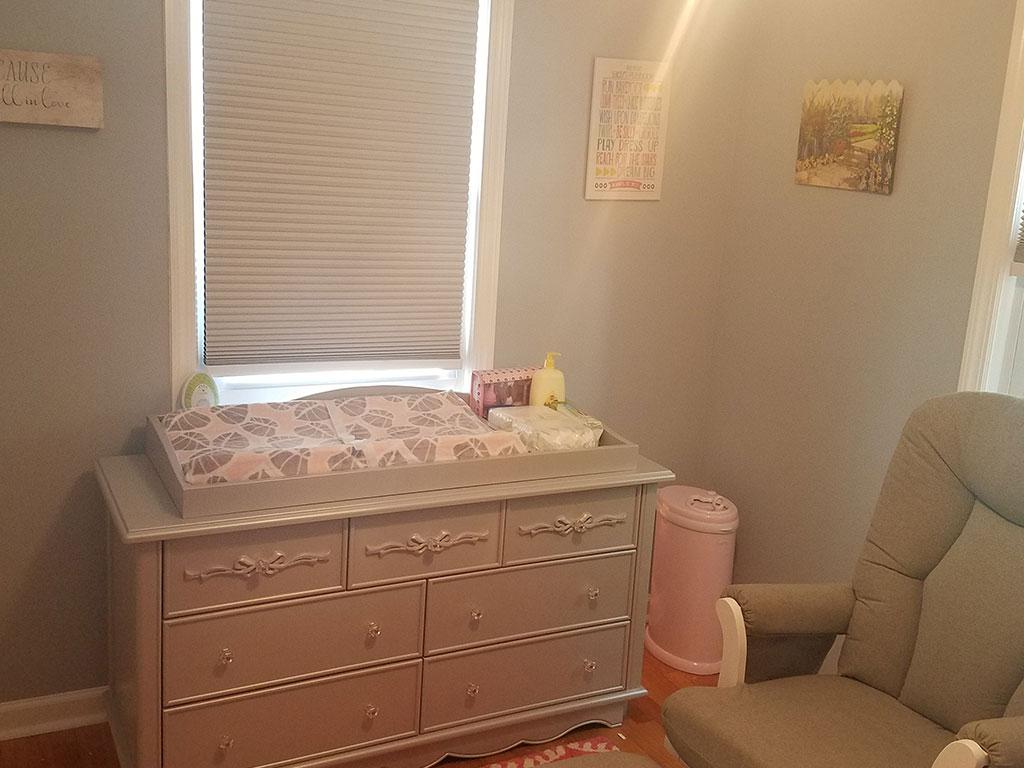 Elena Girl Baby Nursery_Evolur Aurora Double Dresser