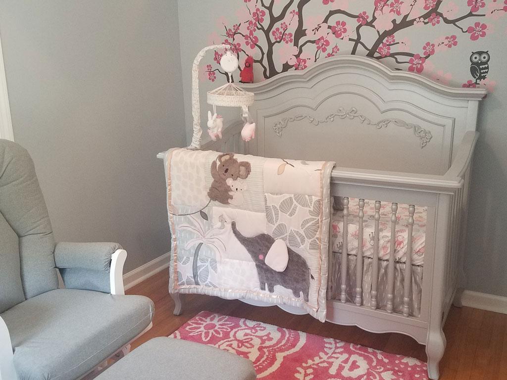 Evolur Aurora - Elena Girl Baby Nursery Pic 3