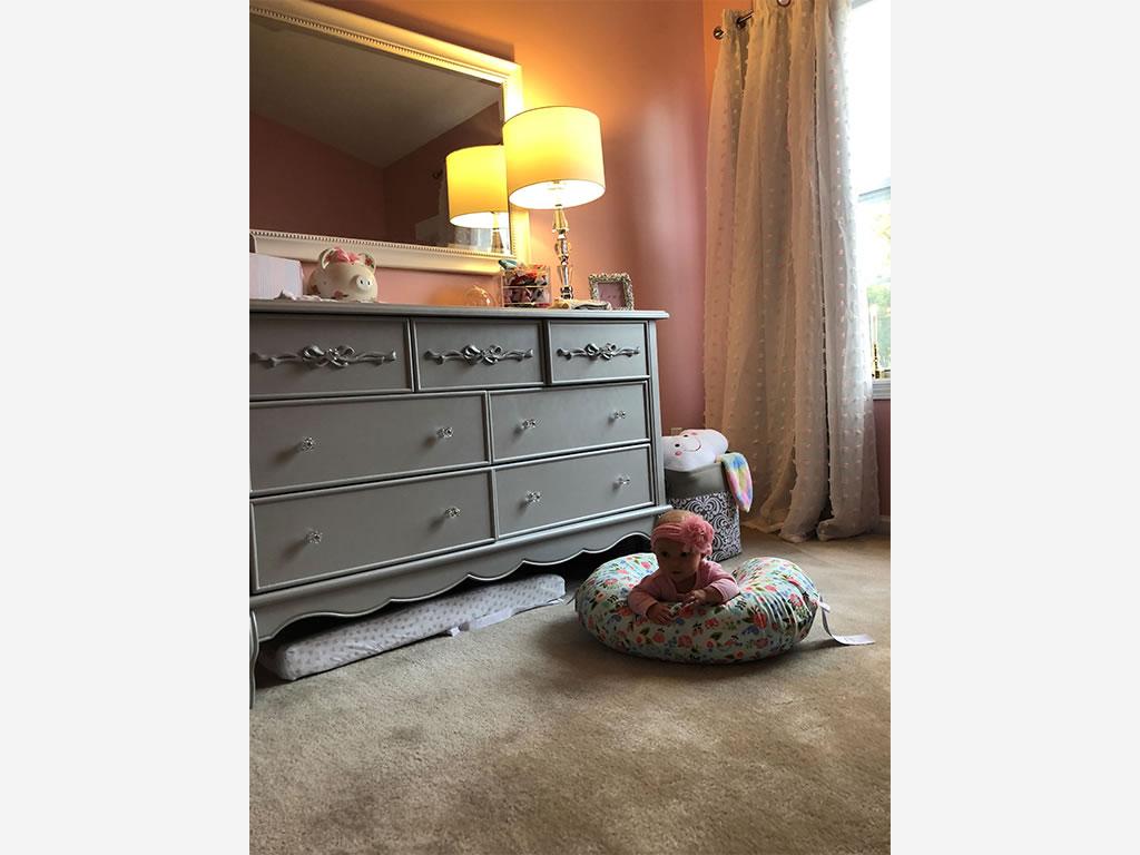 Evolur Aurora Double Dresser in Nichole Kotarski Charlotte