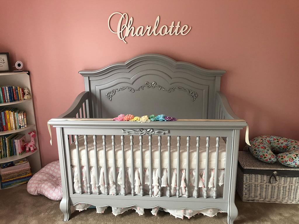 Nichole Kotarski Charlotte - Evolur Aurora Crib