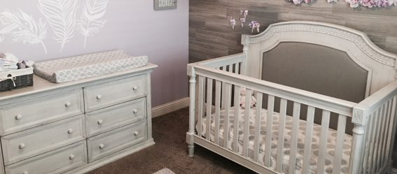 Evolur Julienne - Ashley Baby Nursery