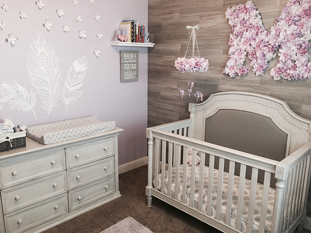 Evolur Julienne - Ashley Baby Nursery Pic 1