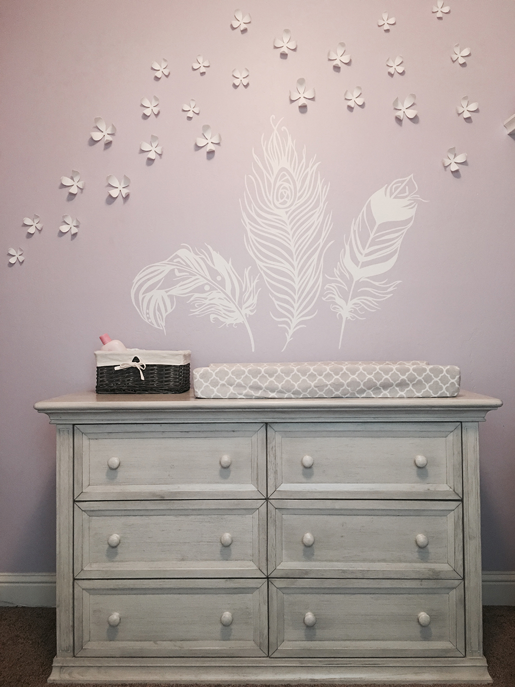 Evolur Napoli Dresser - Ashley Baby Nursery