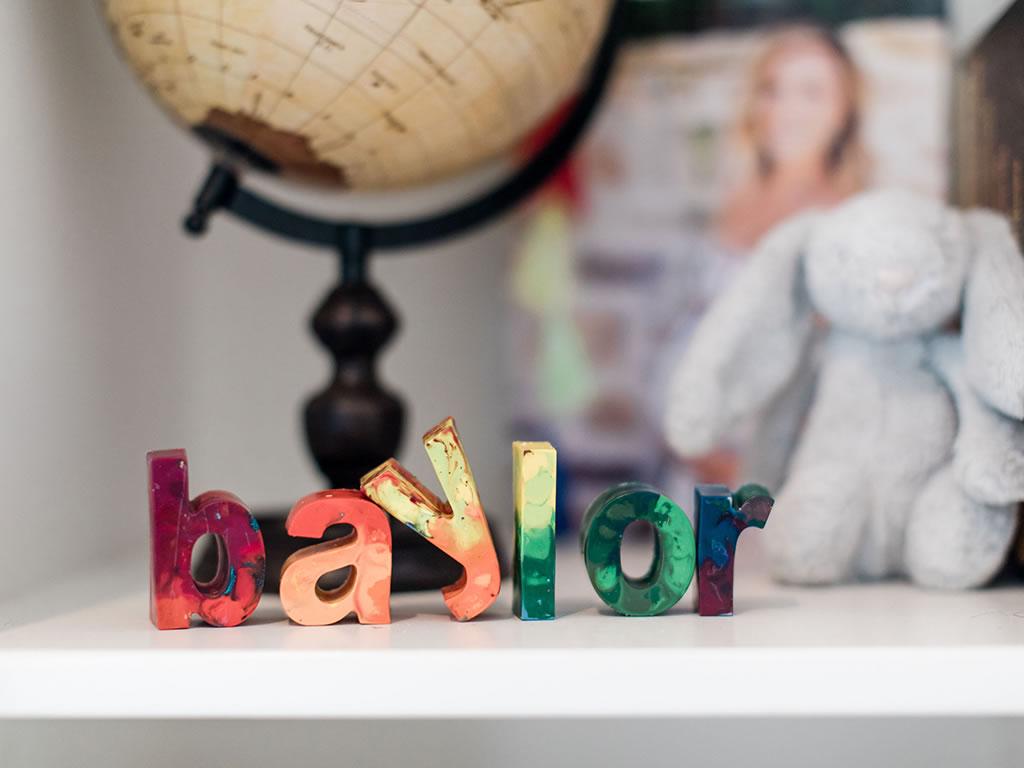 Christine Lakin's Modern Maddox Nursery for Baby Baylor Pic 2