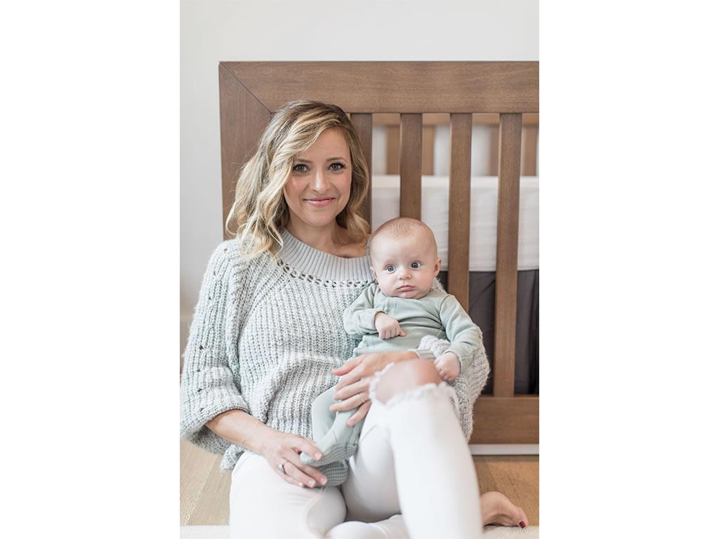 Christine Lakin's Modern Maddox Nursery for Baby Baylor Pic 7