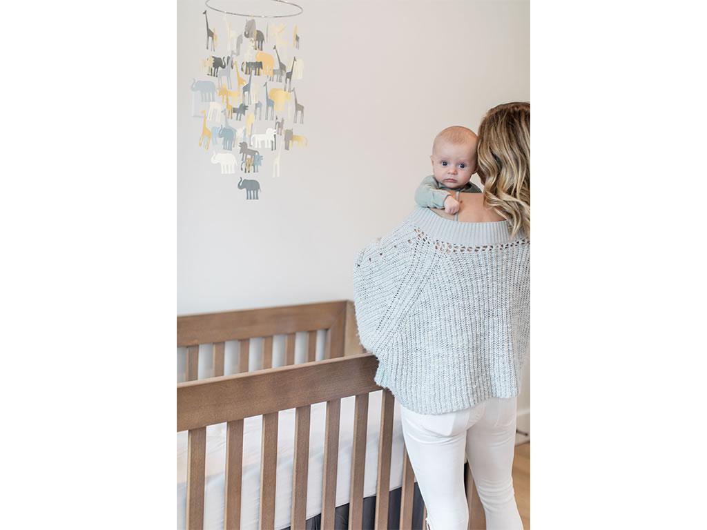 Christine Lakin's Modern Maddox Nursery for Baby Baylor Pic 9