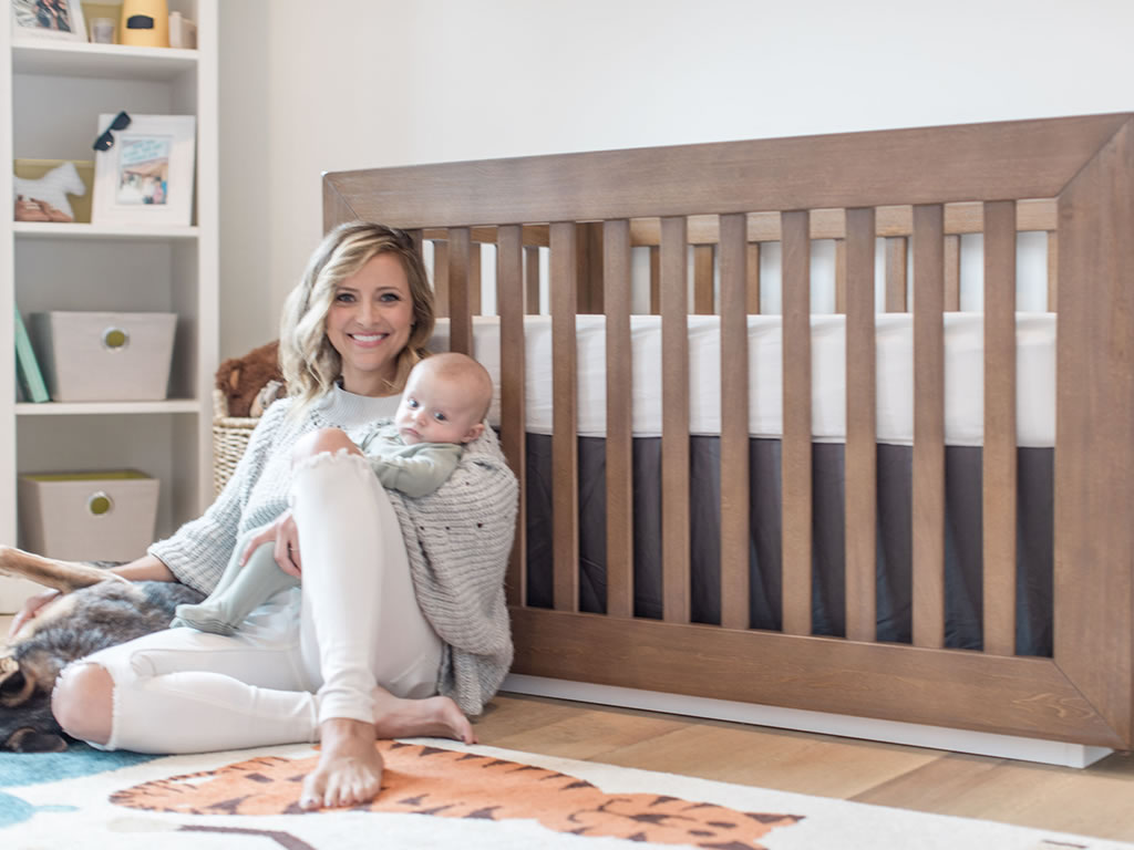 Christine Lakin's Modern Maddox Nursery for Baby Baylor View 1