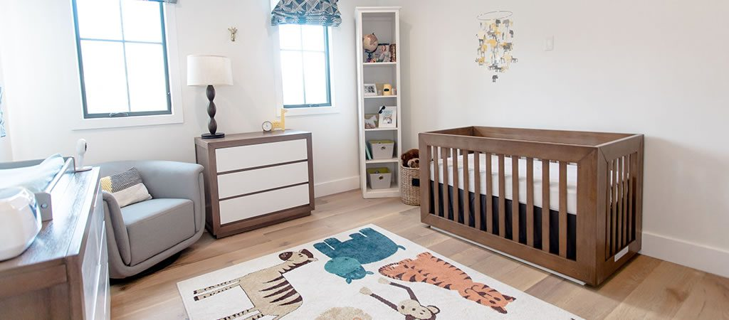Celebrity mom Christine Lakin's modern nursery