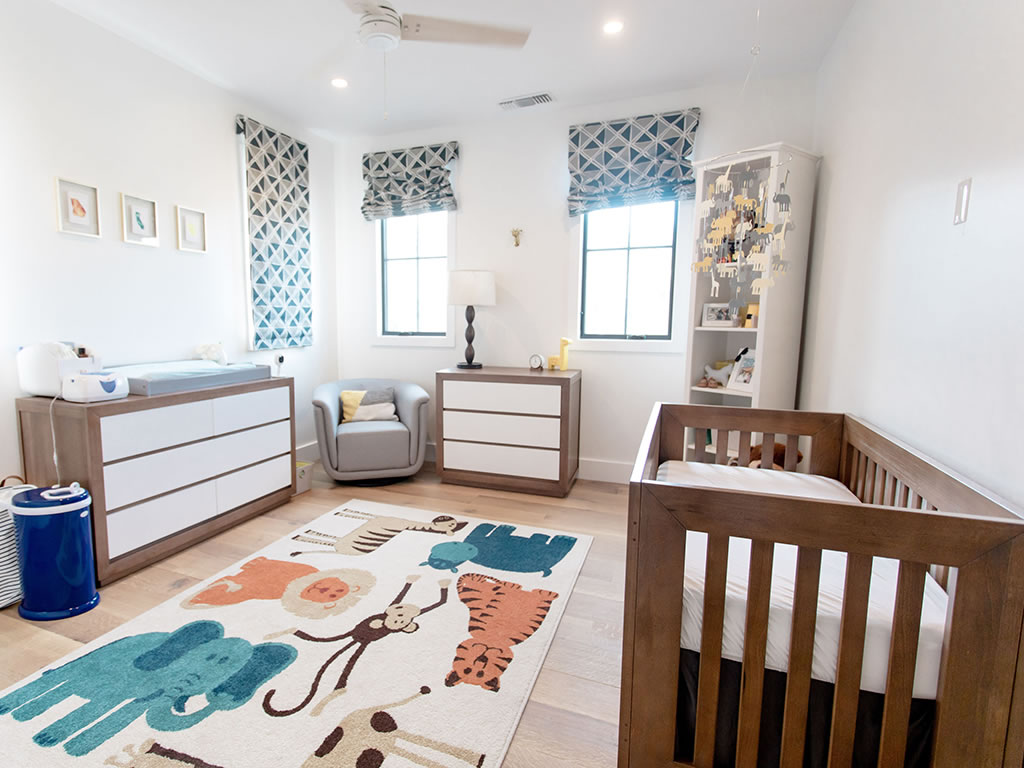 Christine Lakin's Modern Maddox Nursery for Baby Baylor View 2