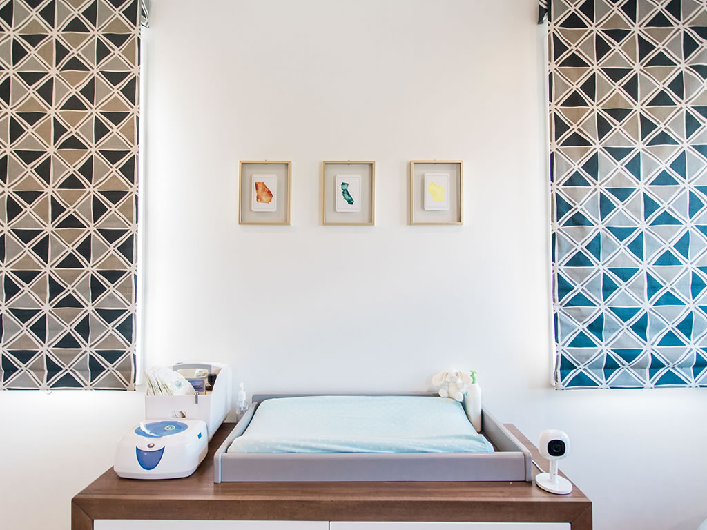 Christine Lakin's Modern Maddox Nursery for Baby Baylor View 4