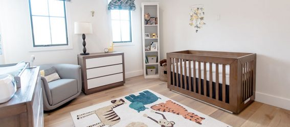 Christine Lakin's Modern Maddox Nursery for Baby Baylor View