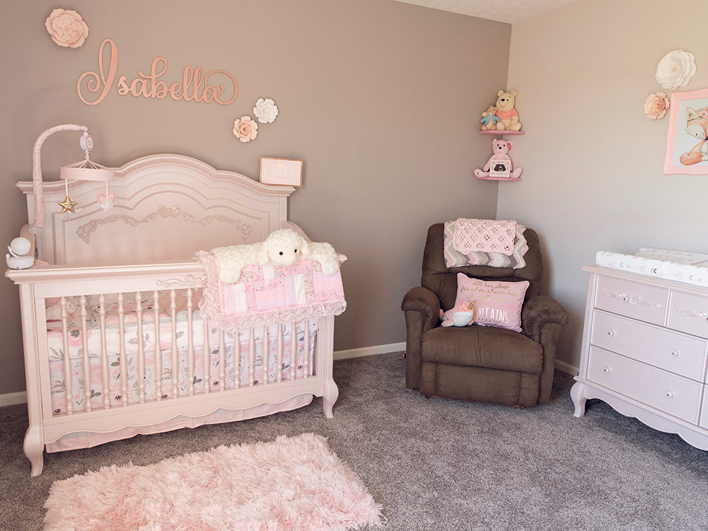 Perfect in pink - Featuring the Evolur Aurora Nursery Collection in Blush Pink Pearl