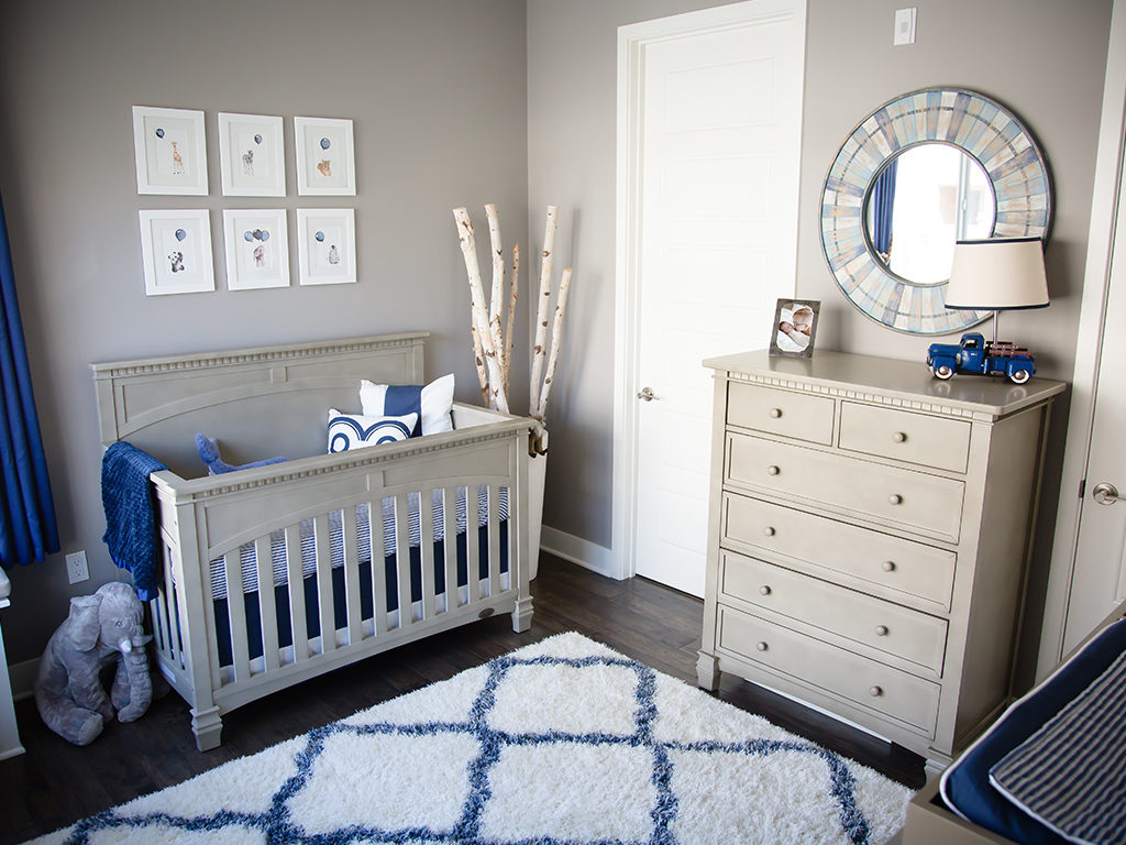 TV commentator Jenn Brown's baby boy nursery