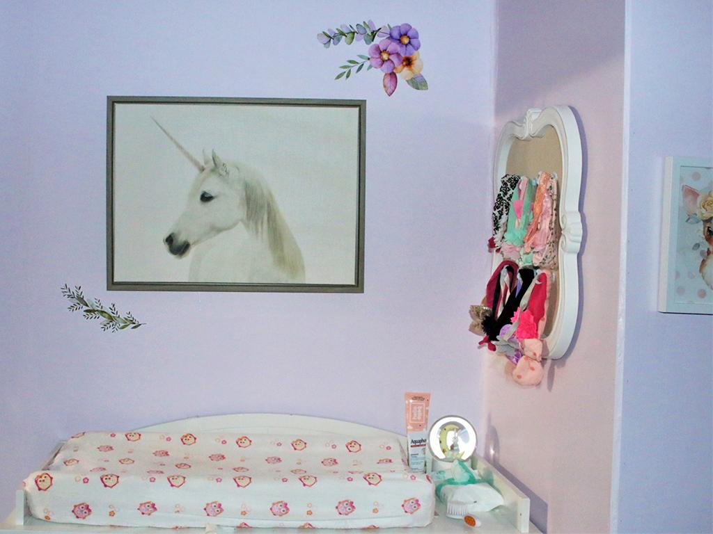 Baby Lilith's charming Evolur Aurora Nursery Image 3