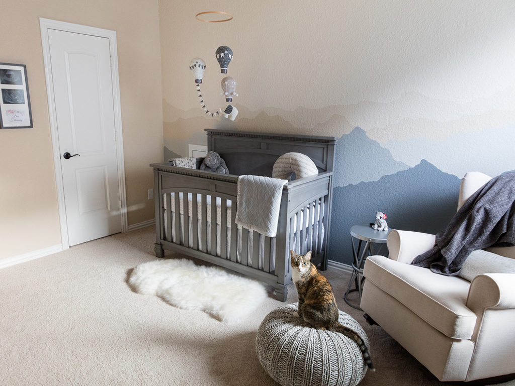 Let him sleep for when he wakes, he will move mountains - with the Santa Fe Nursery Collection