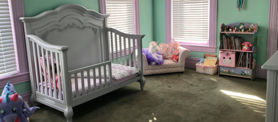 Baby Willow's Whimsical Aurora Nursery