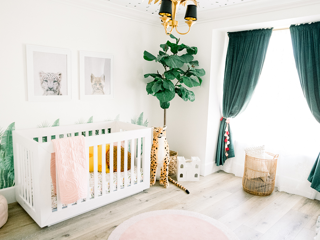 Cat themed nursery