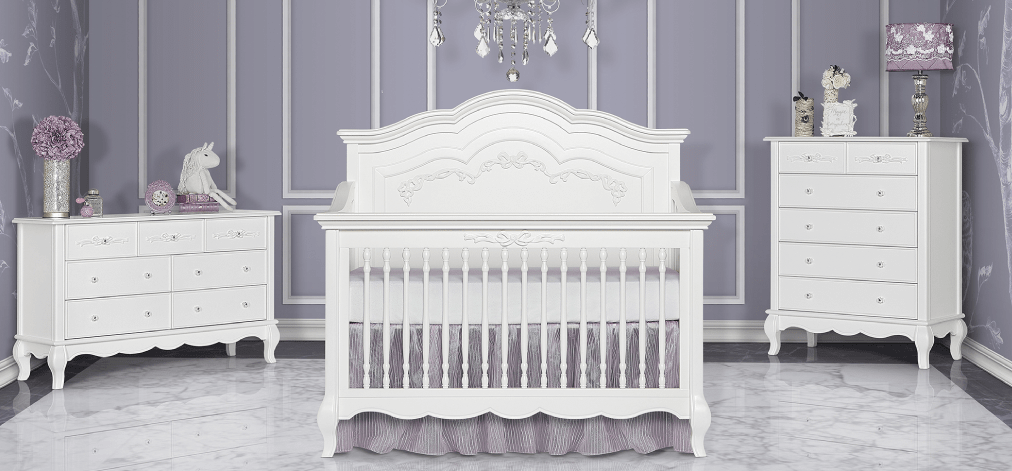 The Aurora 5-in-1 Convertible Crib