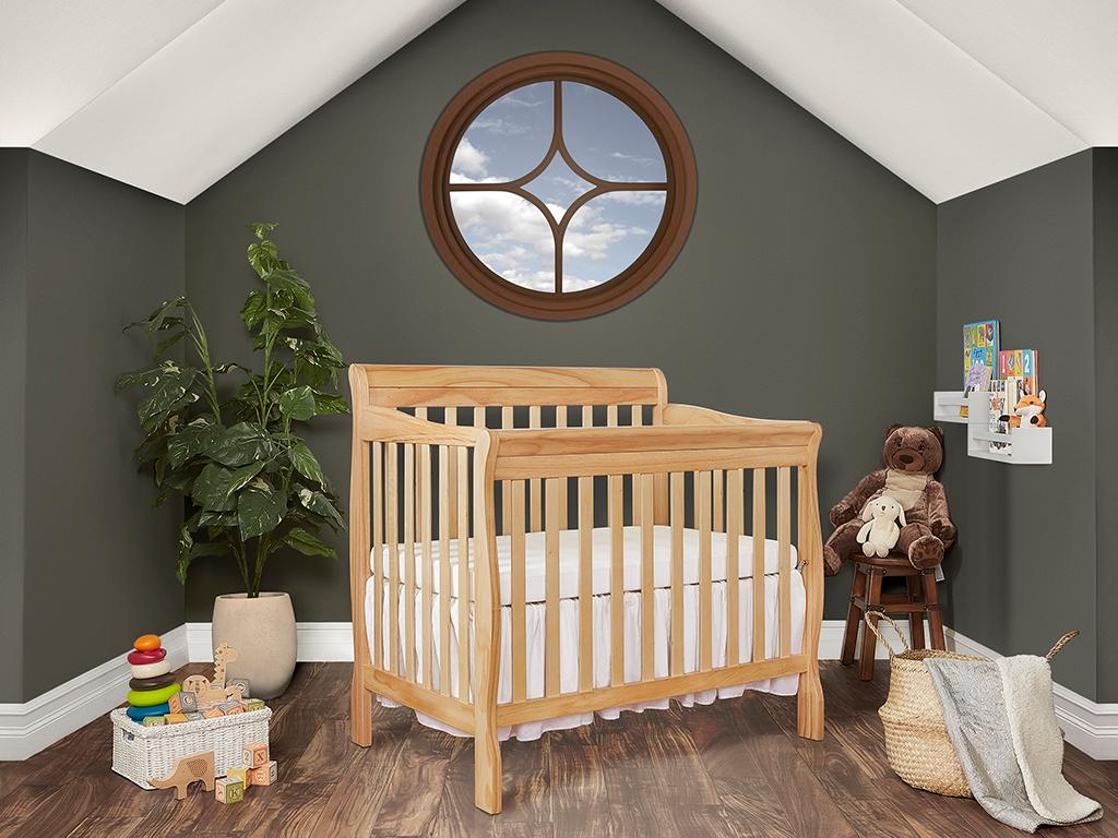 Dream On Me Aden 4 in 1 Convertible Mini Crib