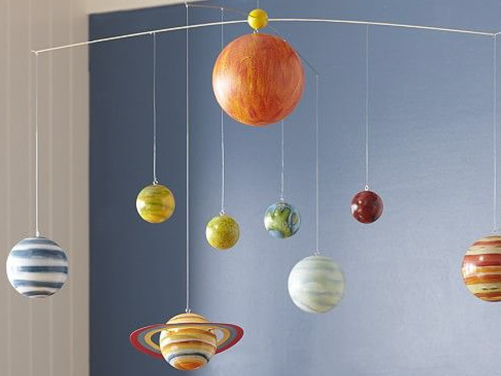 Solar System Chandelier or Hanging Ceiling Adornments