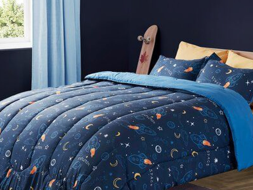 Space Themed Blanket or Bedsheet