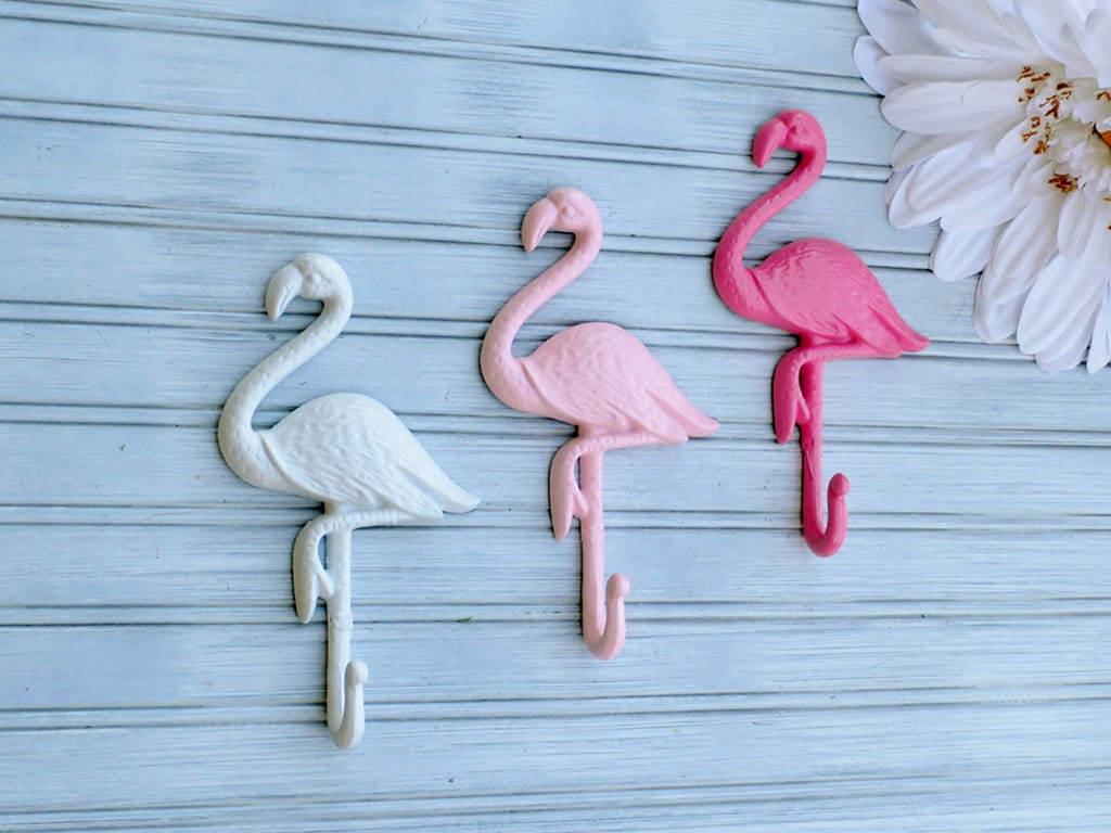 Flamingo Wall Art - Sand Castles and Spurs Etsy