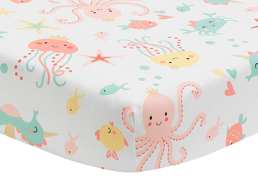 Bedtime Originals Ocean Mist Fitted Crib Sheet